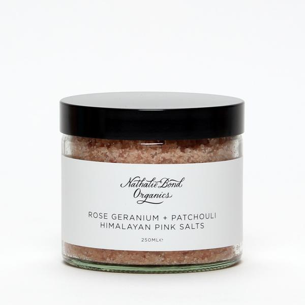 Himalayan Pink Bath Salts, Nathalie Bond Organics at Gather&See, £18.50