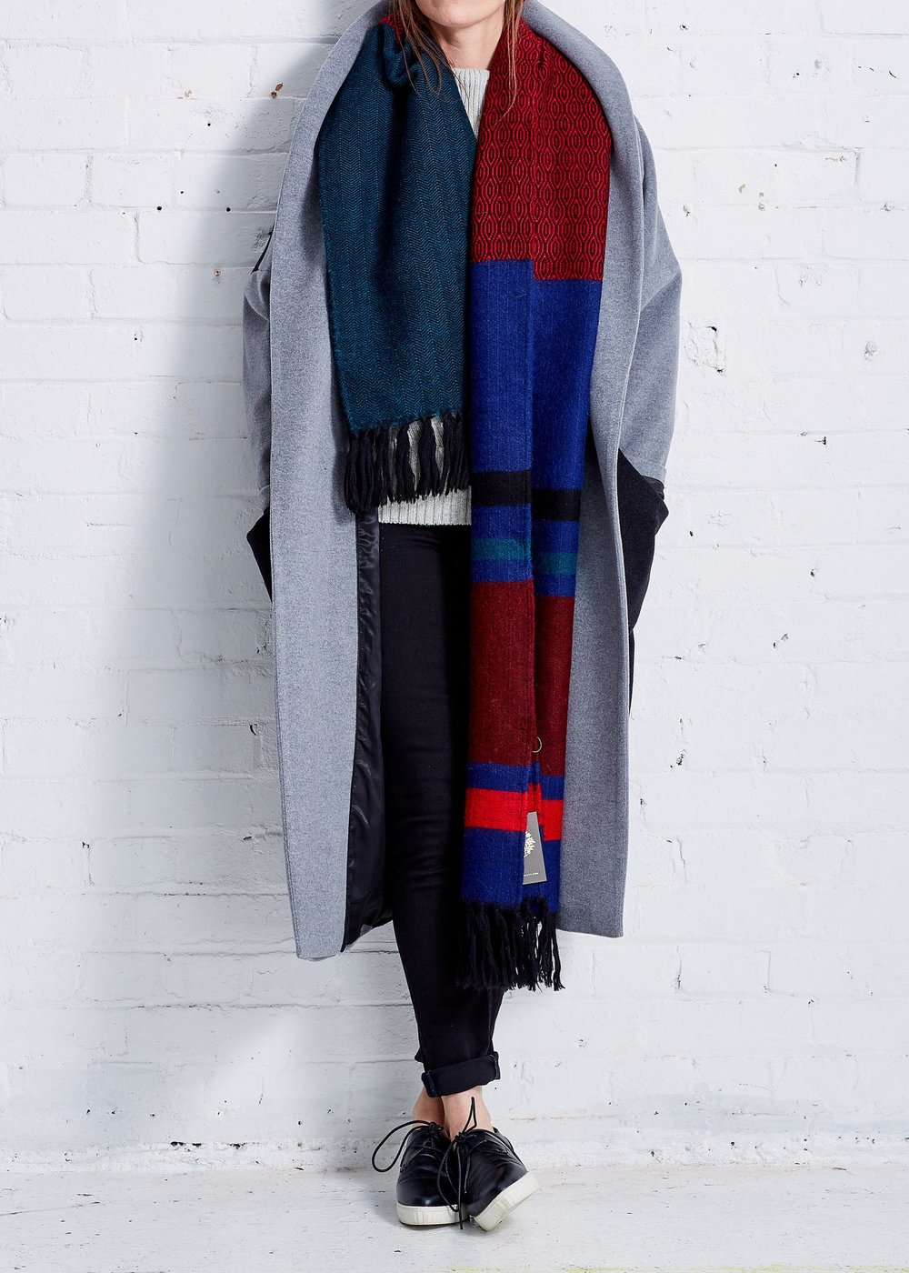 Krishna Alpaca Scarf by A Peace Treaty at Gather&See, £435