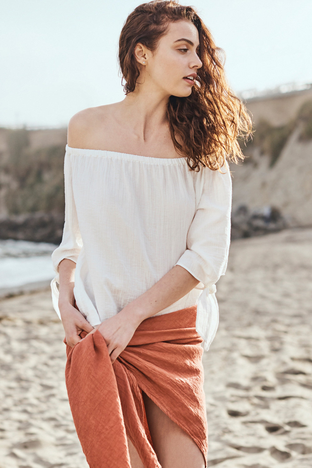 100% cotton cassidy top by   Amour vert