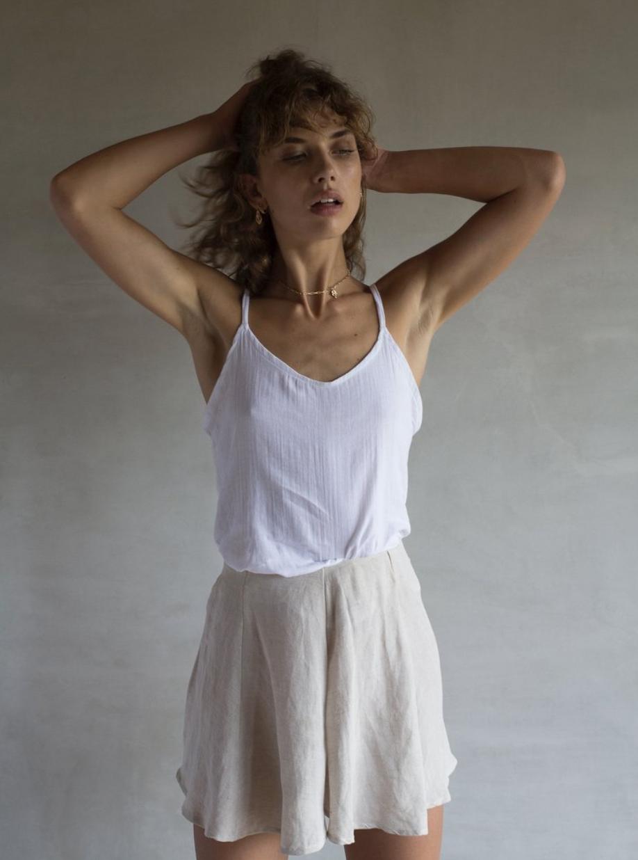 100% cotton guaze jon Cami by   Yoli & Otis