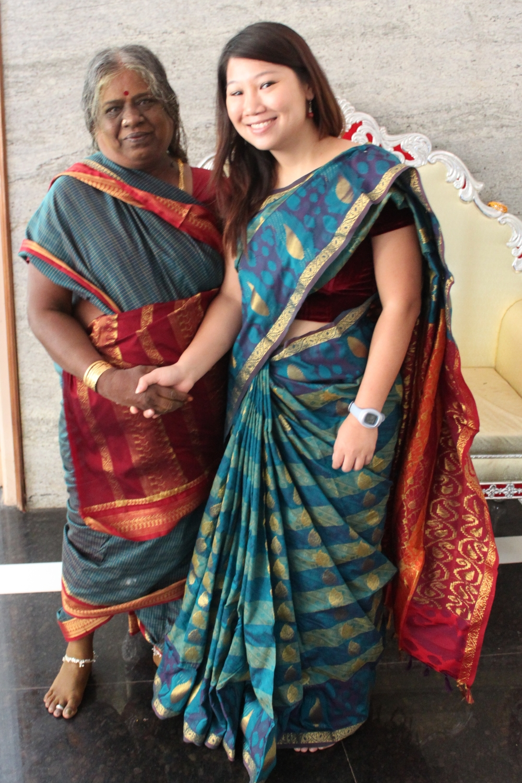 Swami's mother & I