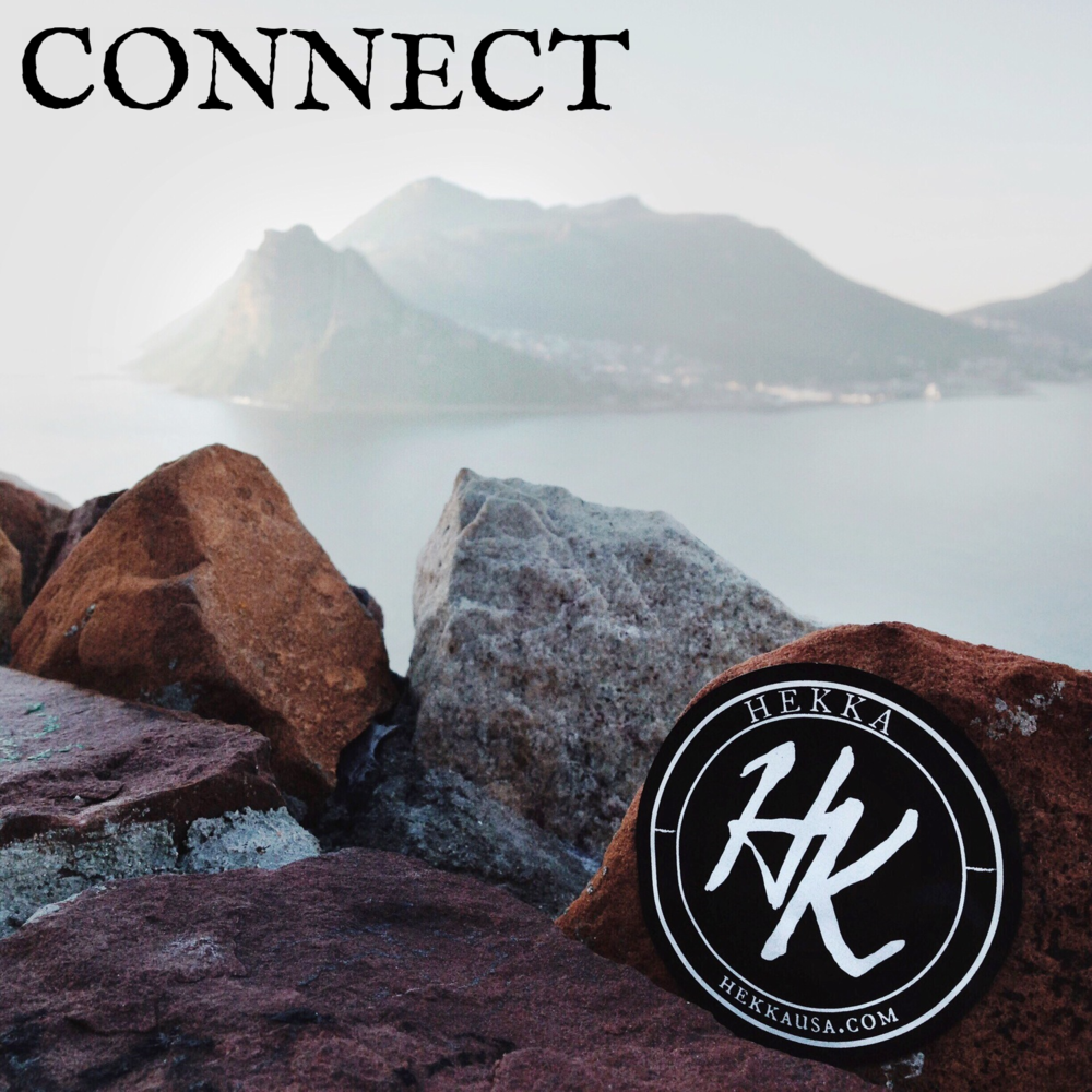 - Hekka reppin' in South Africa, looking out over Hout Bay. -