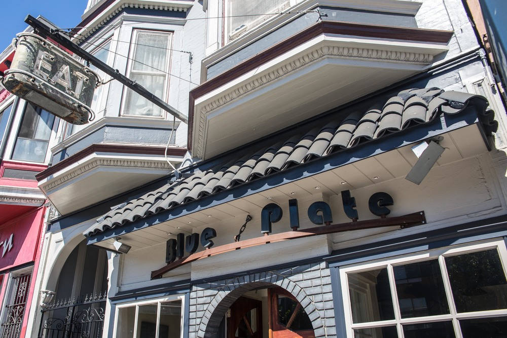 THE BLUE PLATE - 3218 MISSION STREET - 415.282.6777