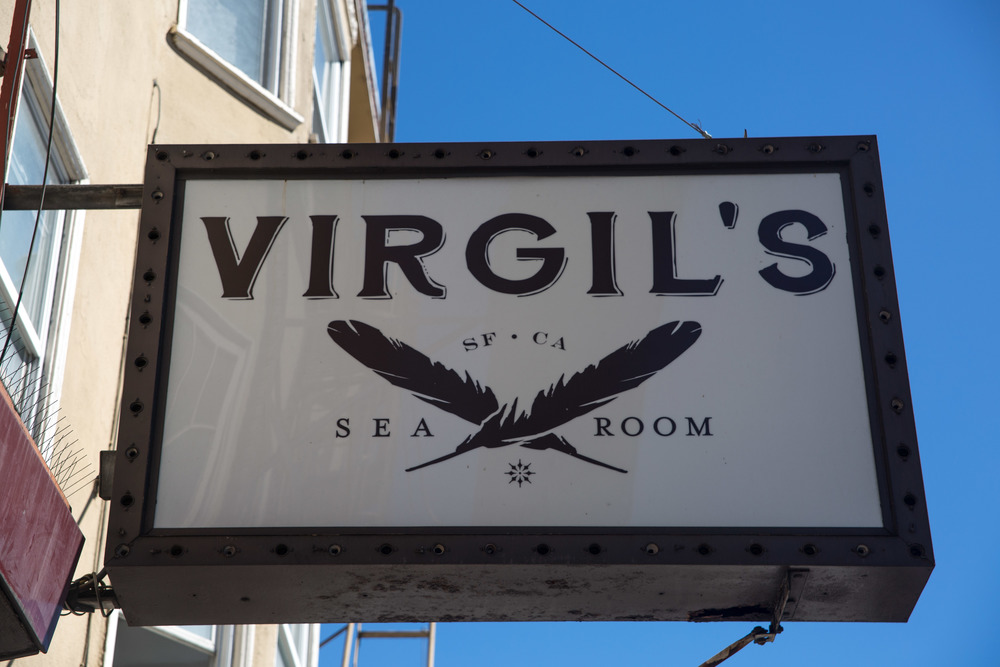 VIRGIL'S SEA ROOM - 3152 MISSION STREET - 415.829.2233