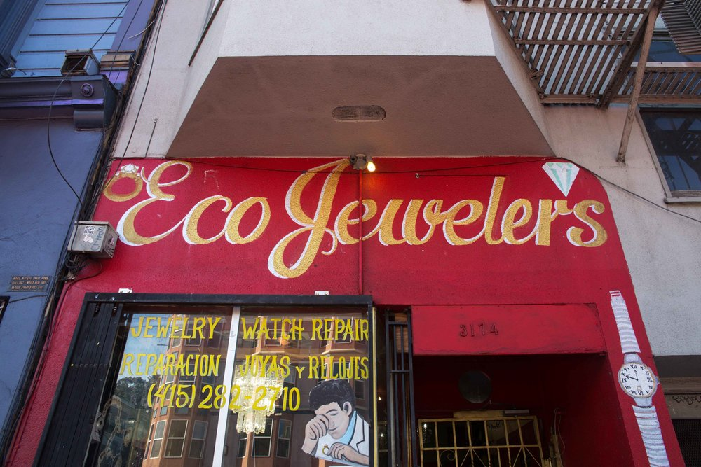 ECO JEWELERS - 3174 MISSION STREET - 415.282.2710