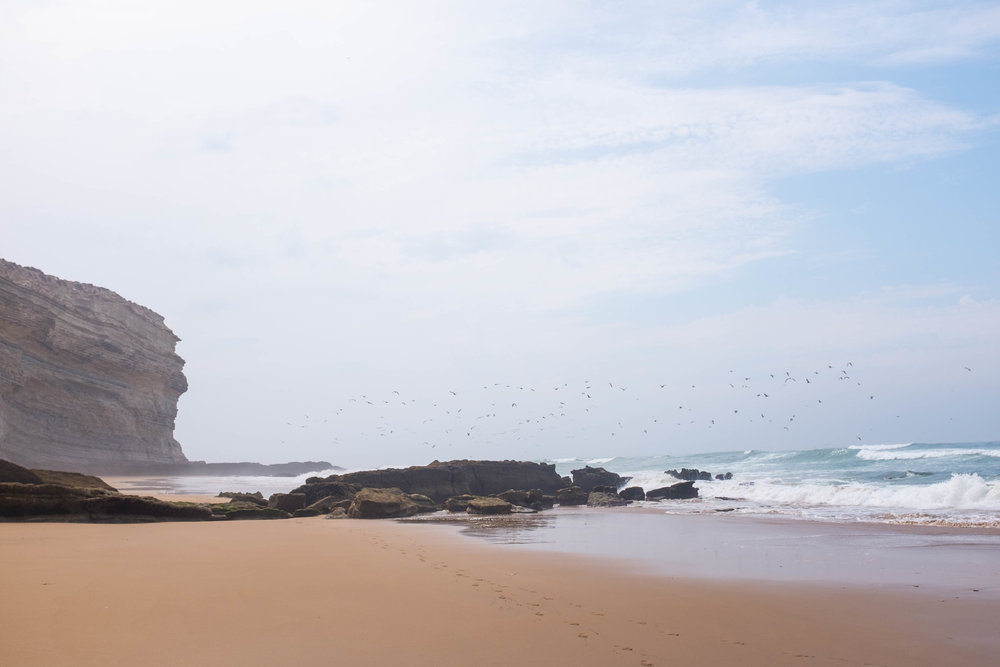 Morocco's Atlantic coastline features postcard-perfect scenery. Just keep it at ground level.