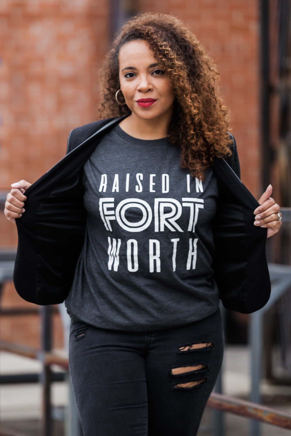 Photo:  Esther Huynh  Raised in Fort Worth tee:  Gray Soul Designs