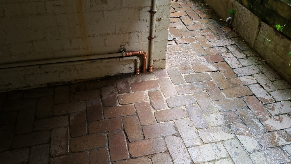 Gas piping once site restored