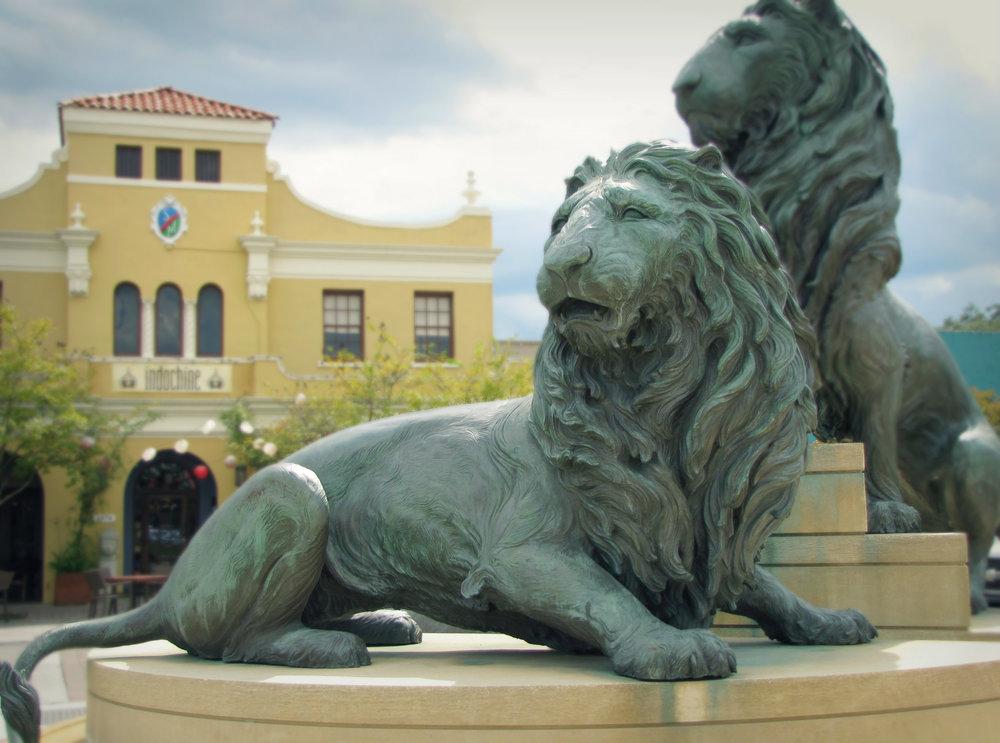 lion sculpture san marco jacksonville
