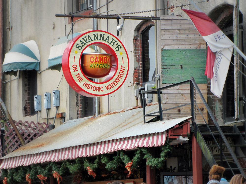 savannah candy kitchen sign