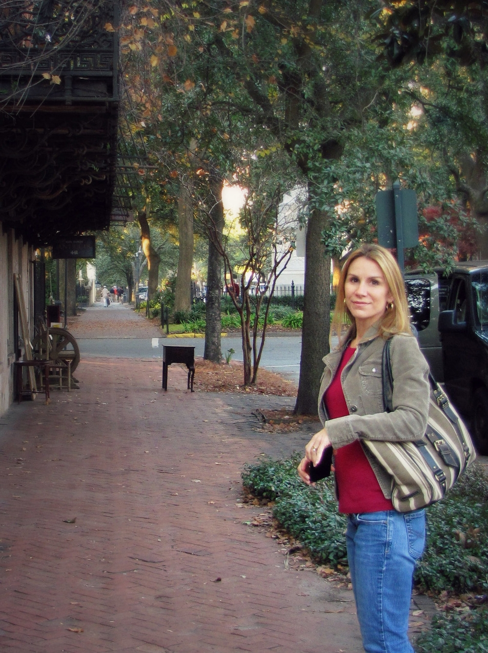Gigi Reinette in Savannah Georgia