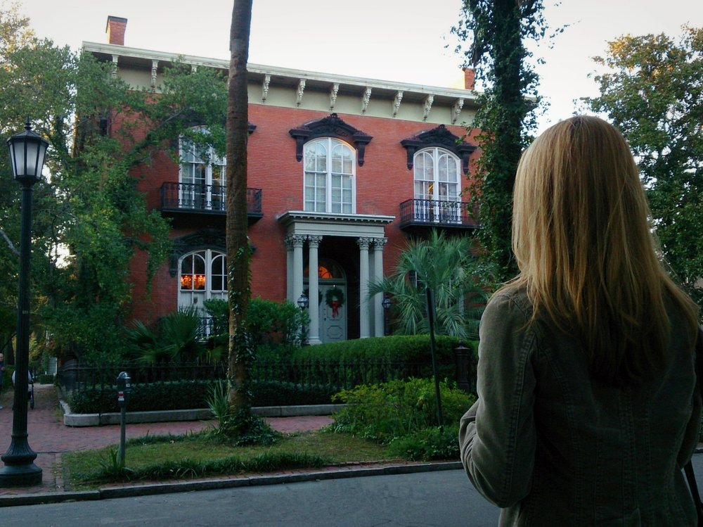 Gigi Reinette at Mercer Williams House in Savannah