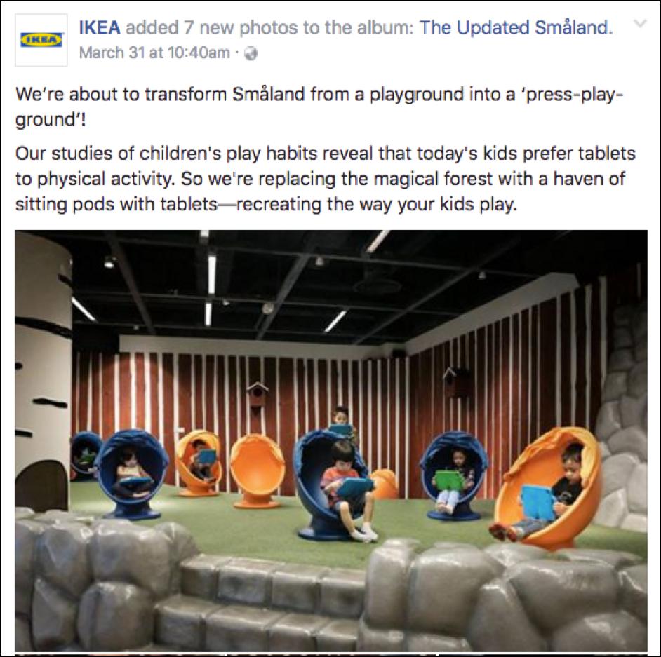 Source: IKEA Singapore's Facebook page