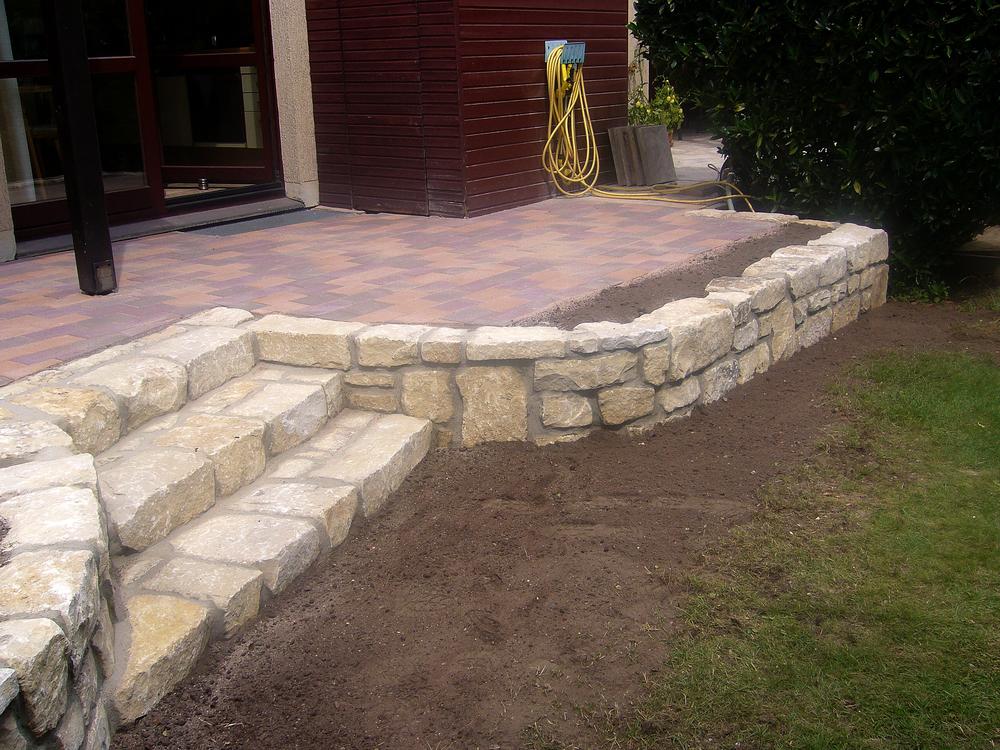 Natursteinmauer \