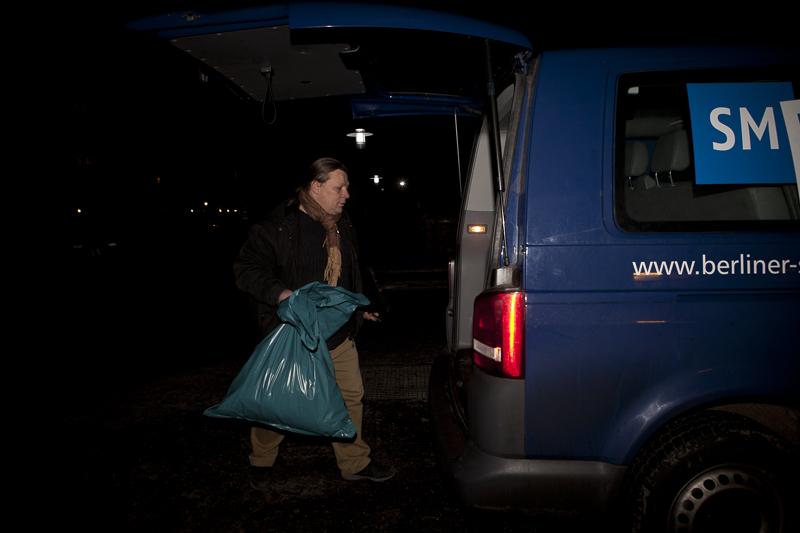 Durch die Nacht mit dem  Kaeltebuss