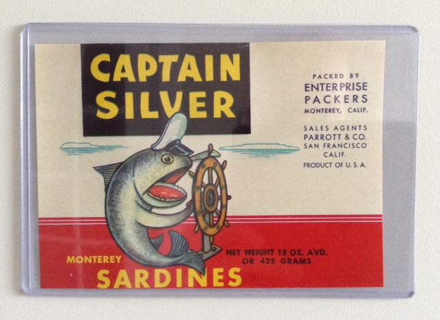 Sardine Can Label