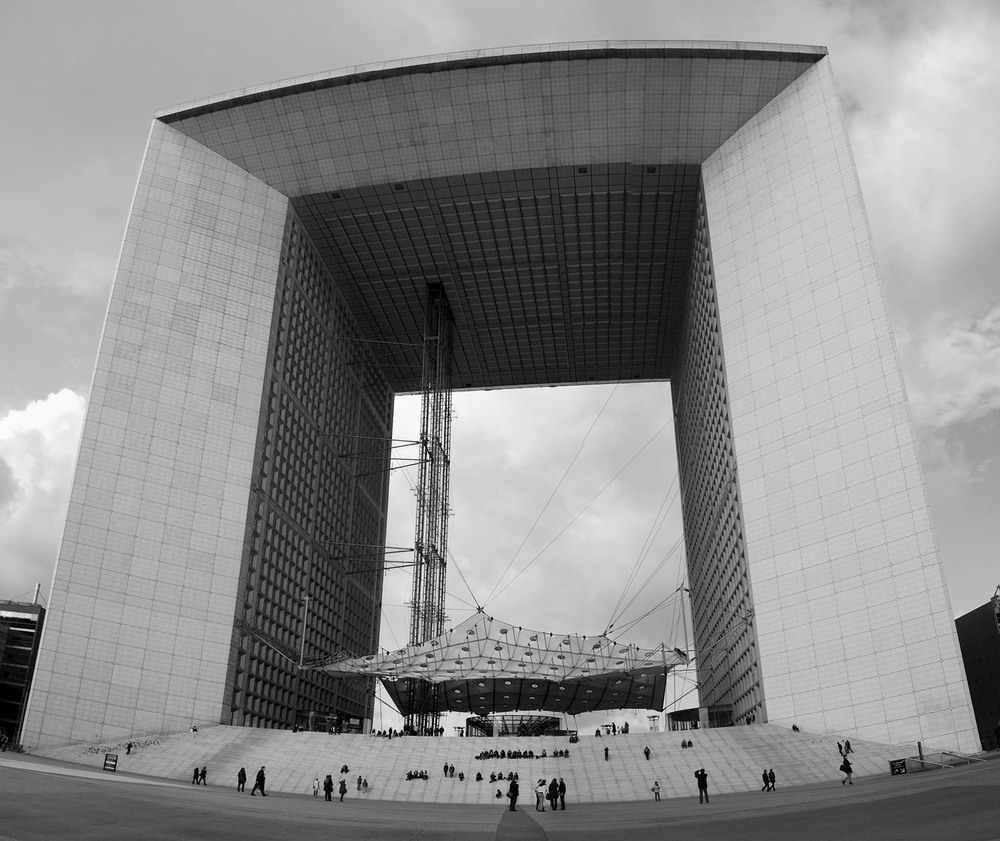 Grande Arche, La Defense - Paris, France