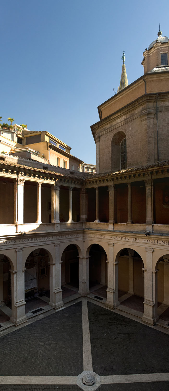Cloister - Rome, Italy