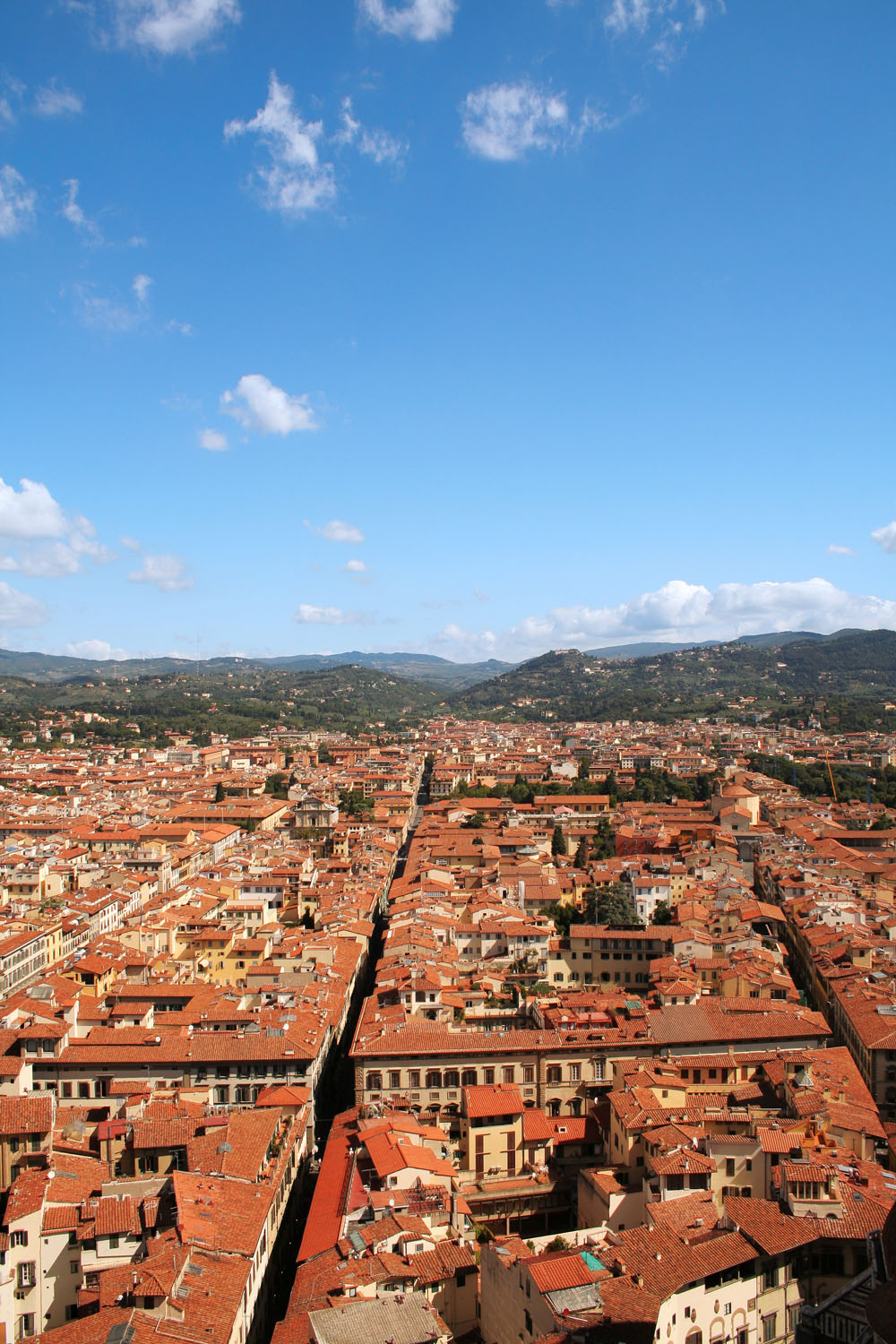 View from Giotto Bell Tower - Florence, Italy