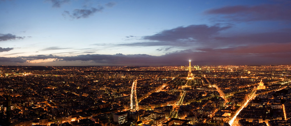 View from Montparnasse Tower - Paris, France