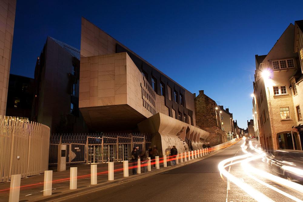 Parliament Building - Edinburgh, Scotland