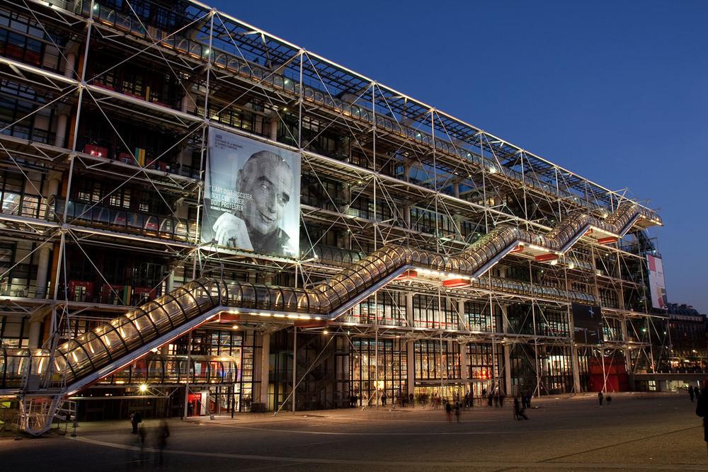 Pompidou Centre - Paris, France