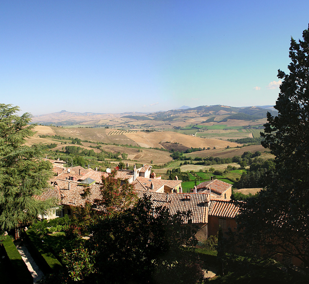 View from the Castle - Proceno, Italy