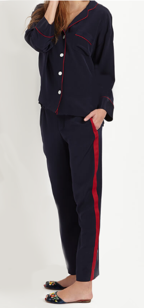 Sleepy Jones silk marina tuxedo pant and shirt.png