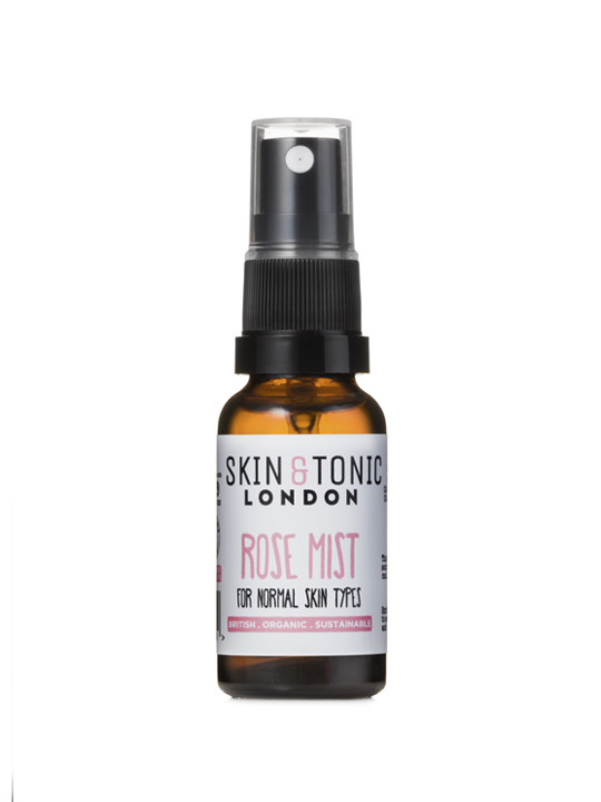SKIN + TONIC ROSE MIST