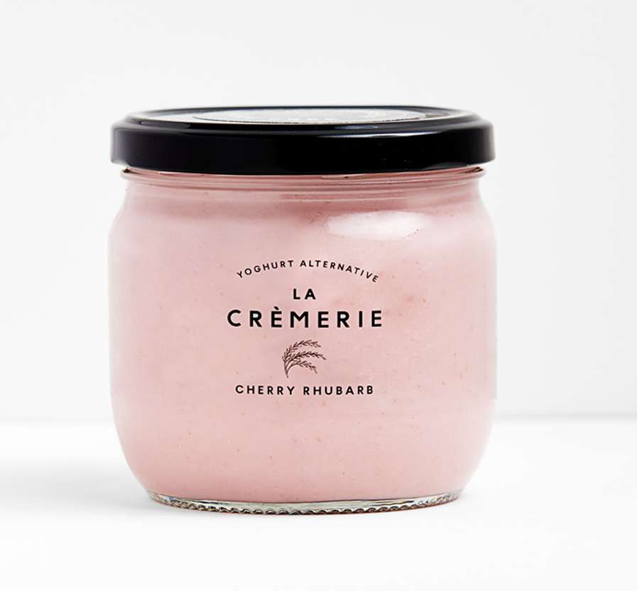 La Crèmerie - We've been a fan of La Crèmerie since we discovered their rice yoghurts in Selfridges and this cherry rhubarb flavour is a dream to enjoy with our oxidant rich Beetroot & Pistachio quinoa granola.