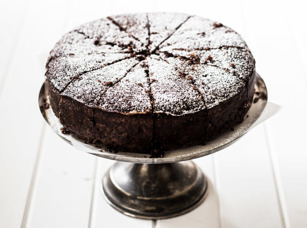 Jamie's Chocolate and Nut Torte -