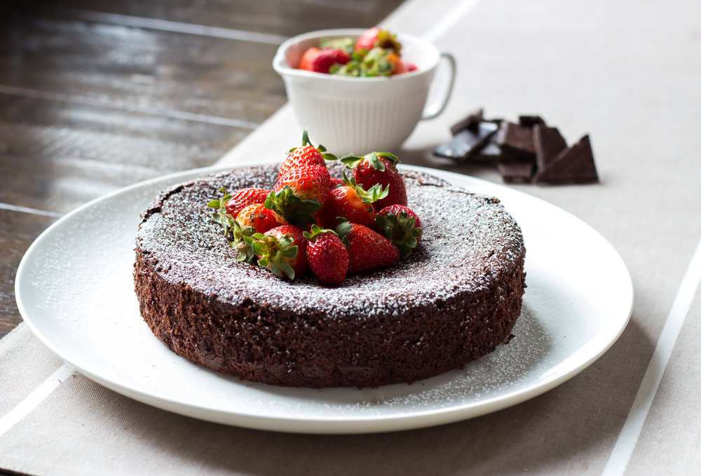 Nigella's Chocolate Olive Oil Cake -