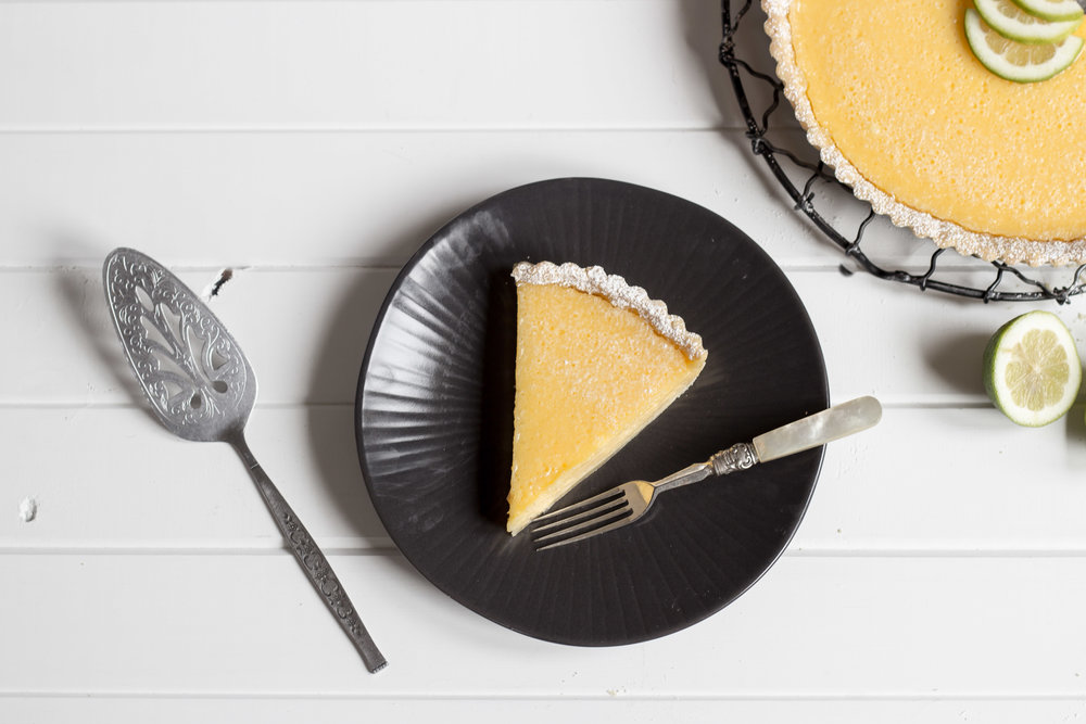 Lemon and Lime Tart -
