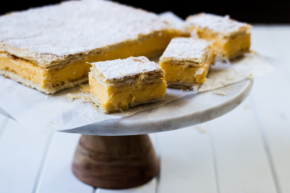 Easy Vanilla Slice -
