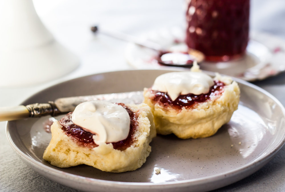 Light and Fluffy Scones -
