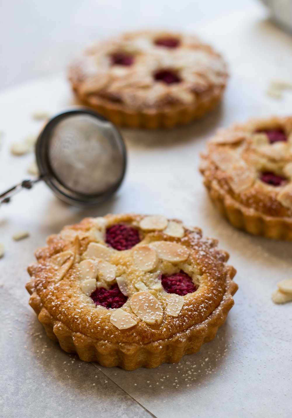Raspberry Tartlets -