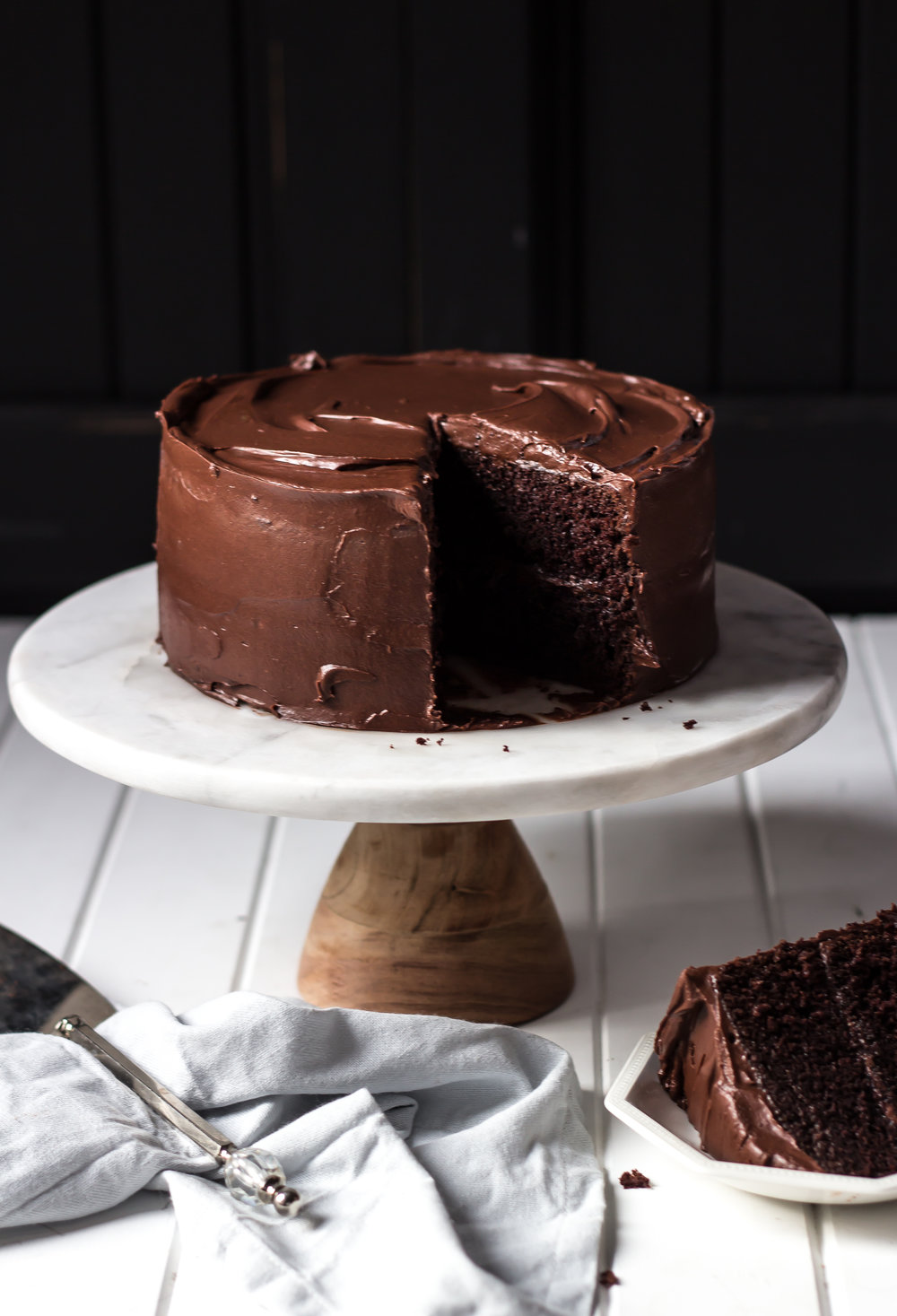 Ultimate Chocolate Cake Recipe -