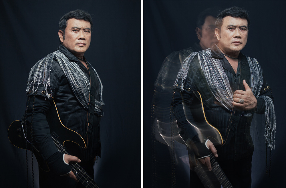Rhoma Irama. Dangdut musician, actor, and politician.