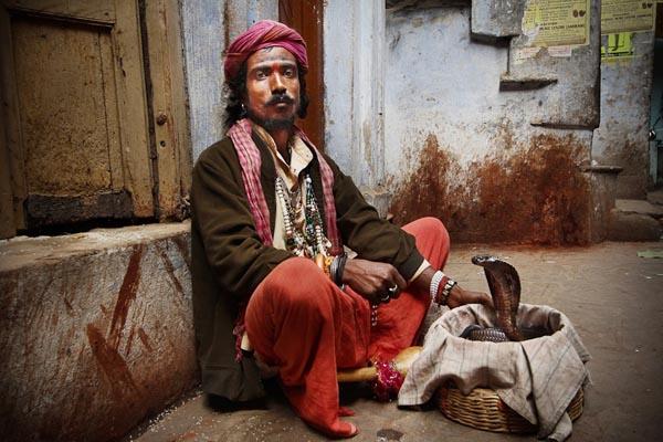 Varanasi Snake Charmer