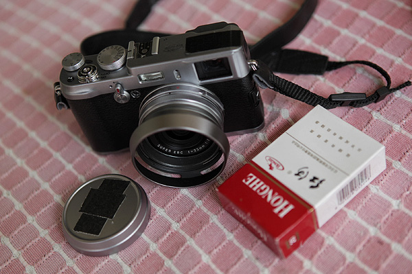 My Fuji X100 and the Chinese cheap cigarette