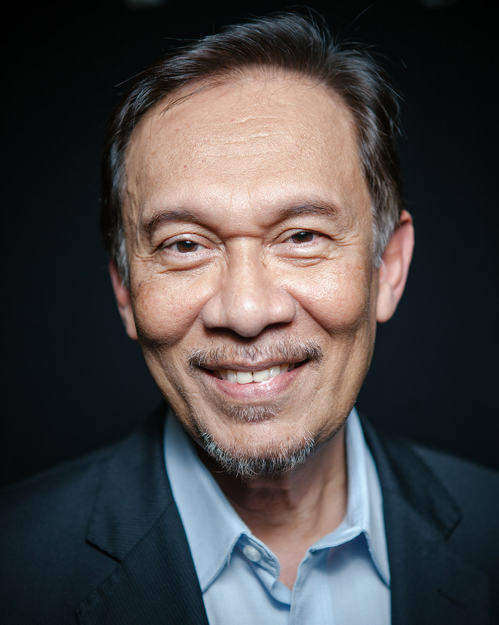 Anwar Ibrahim. Politician, Malaysia's opposition leader.