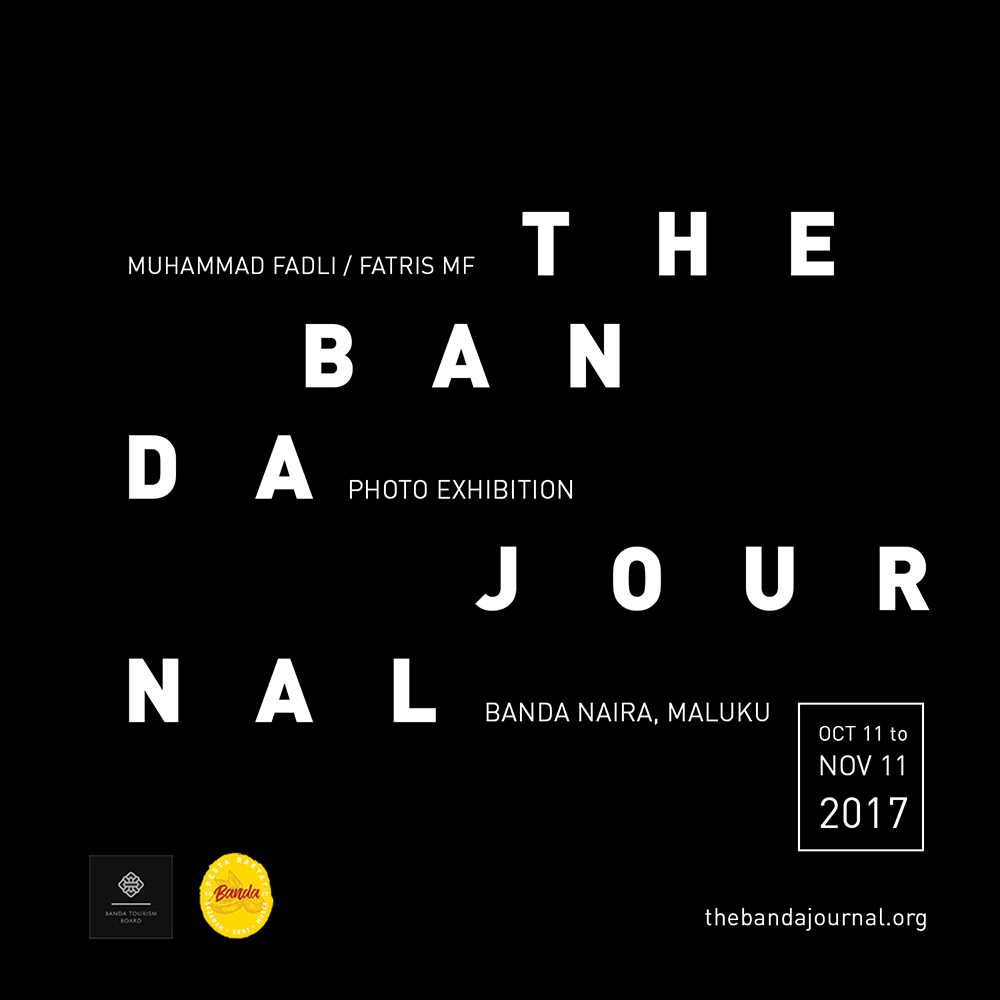 The Banda Journal Exhibtion online poster