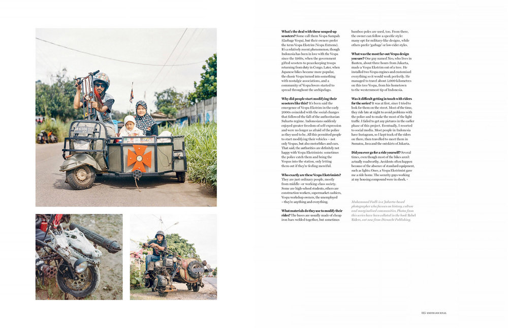 Rebel Riders in Smith Journal vol.30, March 2019