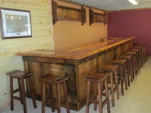 Barnwood Bars BarnWood Furniture Designs - Barnwood bar table