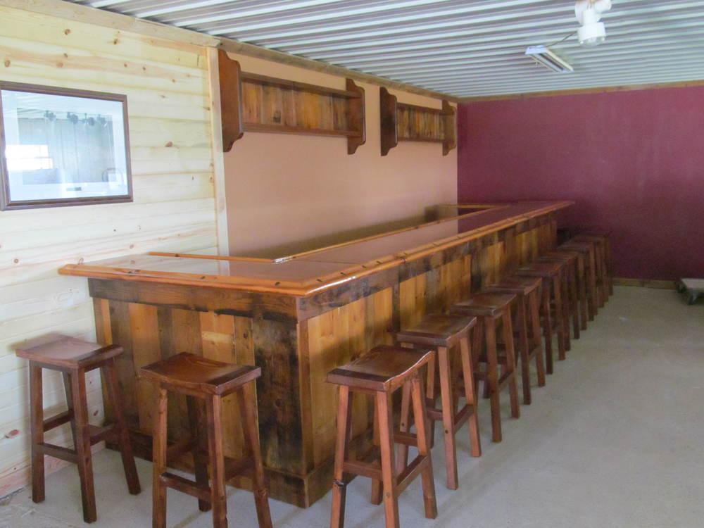 Barnwood Custom Bar