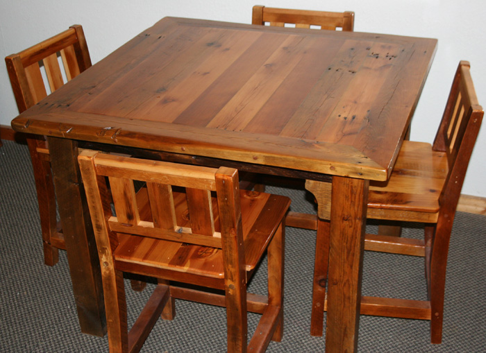 Charmant BarnWood Furniture Designs