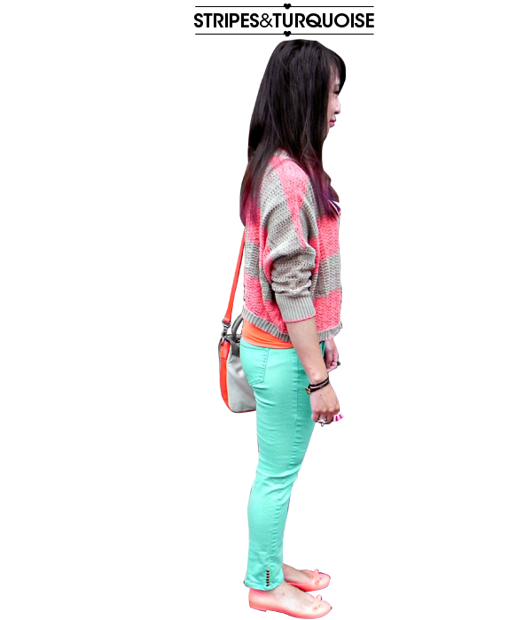 stripesturquoise