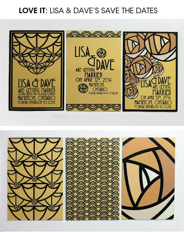 lisa dave save the dates