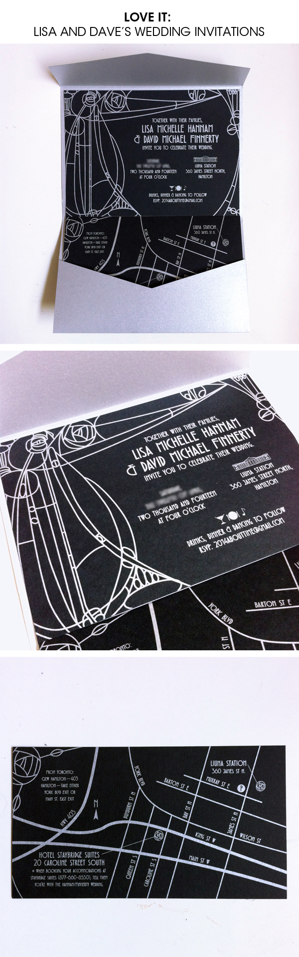 lisa dave wedding invitations