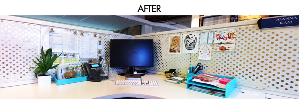 Diy It Cubicle Makeover Under 100 Joanna Kam